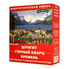 Набор энергетическая смесь (шунгит, горный кварц, кремень) -380 г