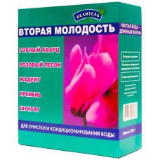 Набор вторая молодость ( горный кварц, розовый песок, жадеит, кремень, шунгит) - 380гр